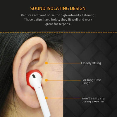 Soft Ultra Thin Earphone Tip Cover