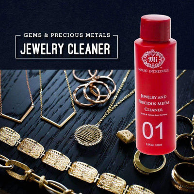 Gems & Precious Metals Jewelry Cleaner