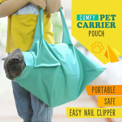 Comfy Pet Carrier Pouch