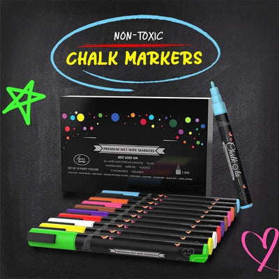 Dust-free Liquid Chalk Marker