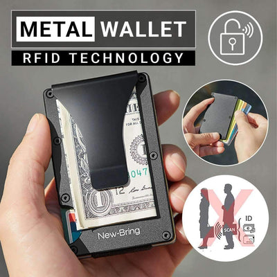RFID Metal Card Case