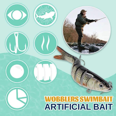 Sinking Wobblers Artificial Baits