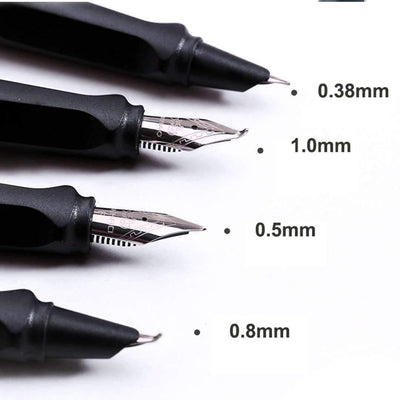 Fountain Pen (4 Nib Types)
