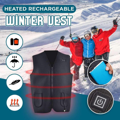 Rechargeable Heating Winter Vest