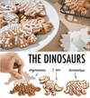 Cookie mold Dinosaur Mold(3-piece set)