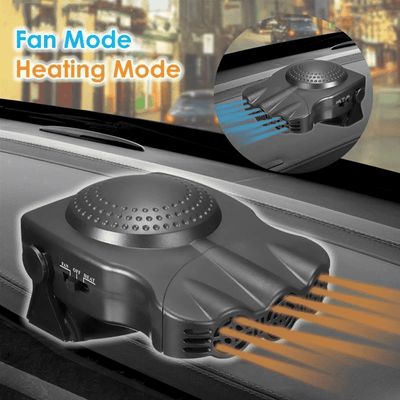 Portable 2-in-1 Defrost And Defog Car Heater