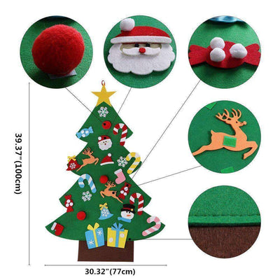 Felt Christmas Tree Kit