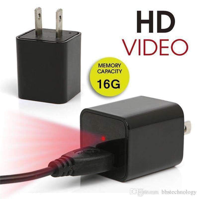 Dual Purpose USB Charger Camera