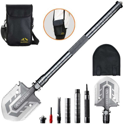 23-in-1 Survival Multi-Purpose Shovel