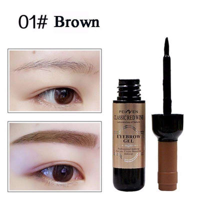 3-Color Water Gel Peel-Off Eyebrow Tattoo