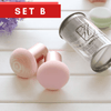 Premium Wet and Dry Marble Mushroom Makeup Sponge
