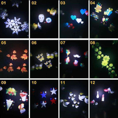 LED Laser Star Light Projector