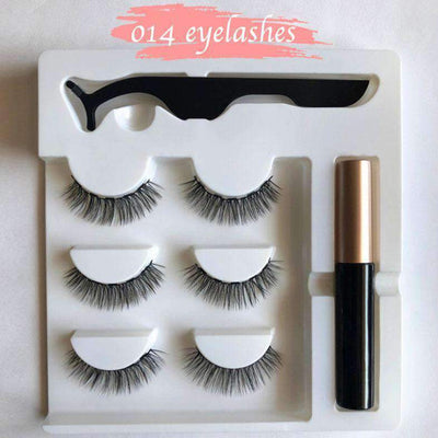 Next-Level Magnetic Eyelashes and Eyeliner Set - 3 Pairs/ Set!