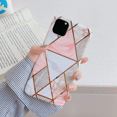 Geometric Marble iPhone 11/ 11 Pro Case