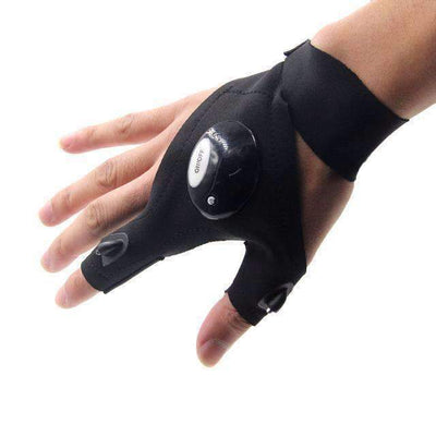 Fingerless Waterproof LED Glove