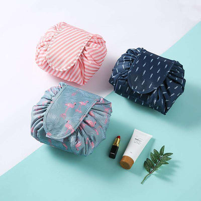 Deluxe Drawstring Waterproof Cosmetic Bag
