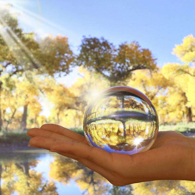 Crystal Ball for Wide Angle Photography