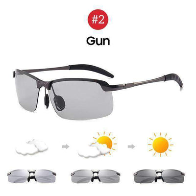 Men's Photochromic Polarized Sunglasses