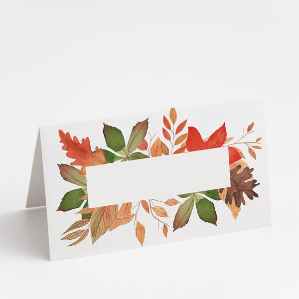 Autumnal Place Cards