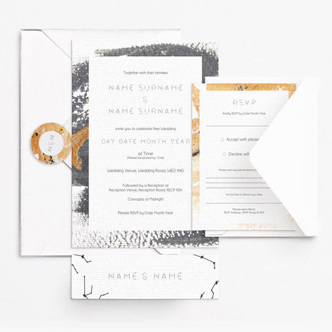 Constellation Invitation Set