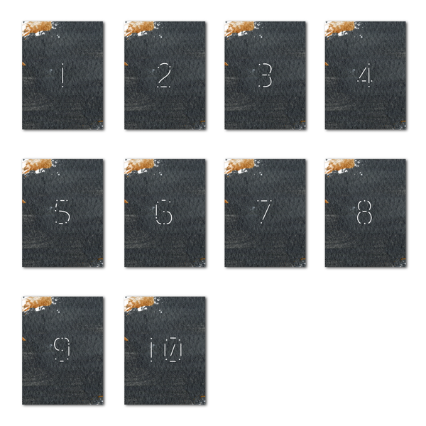 Constellation Table Numbers