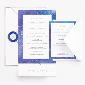 Cosmic Invitation Set