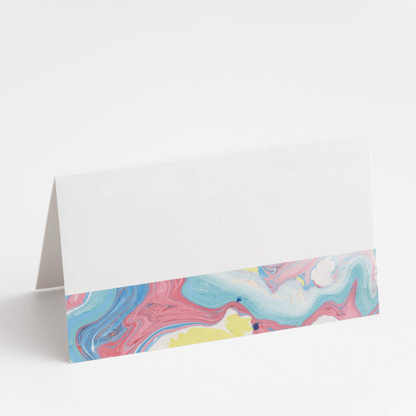 Marbleous Summer Place Cards