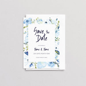 Angharad Floral Save The Date