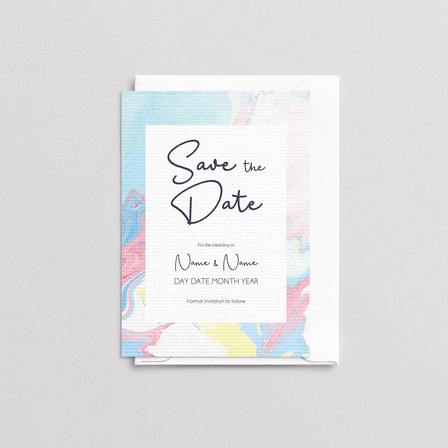 Marbleous Summer Save The Date