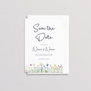 Wildflowers Save The Date