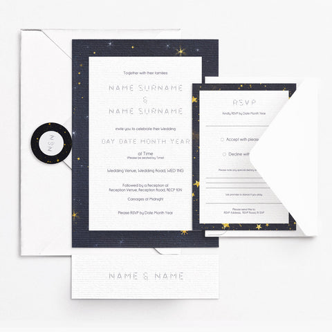 Starry Eyed Invitation Set