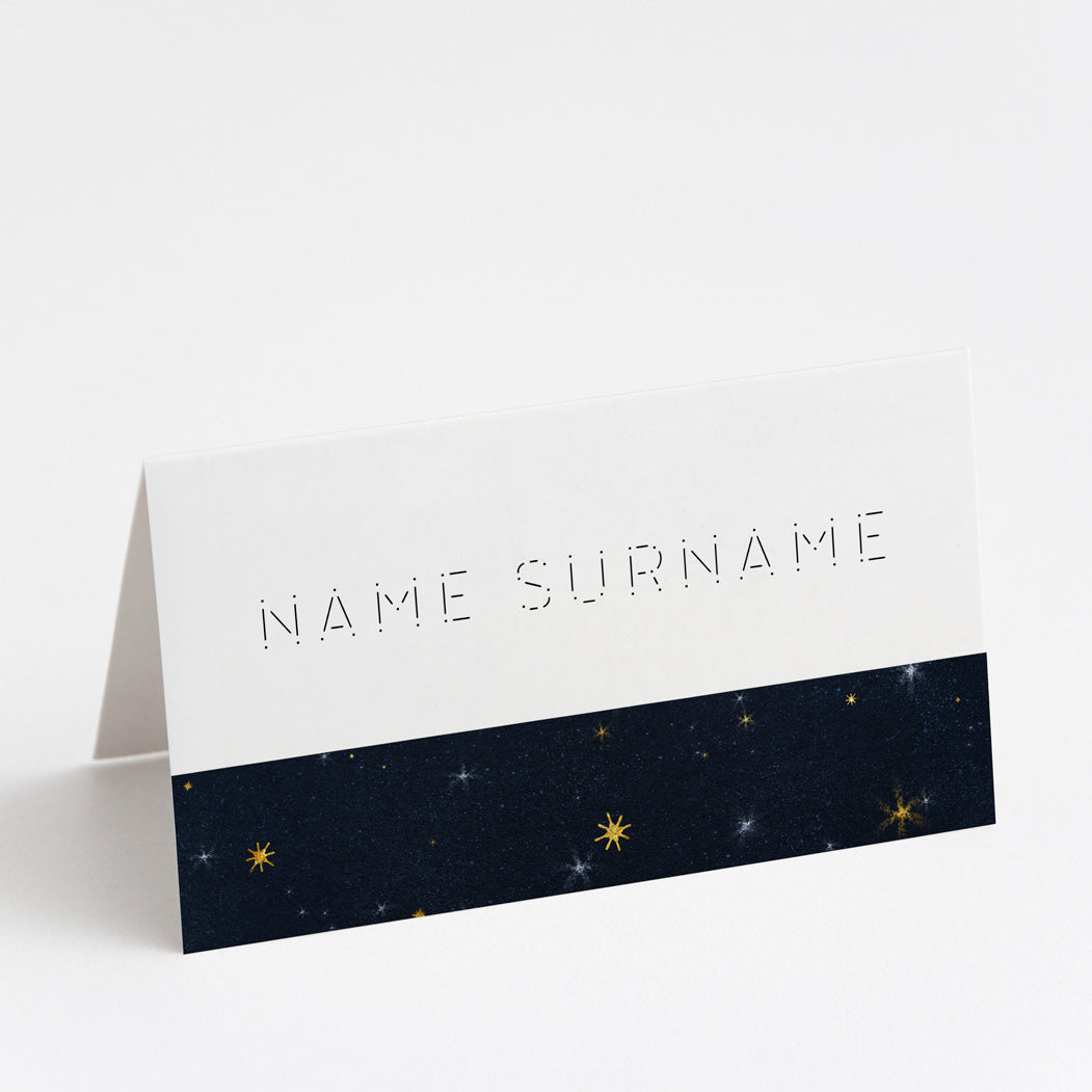 Starry Eyed Place Cards