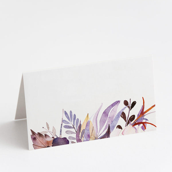 Victoria Floral Place Cards