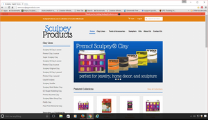 SculpeyProducts.com Updates Website