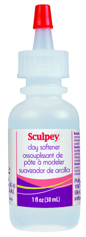 Sculpey Clay Softener,  1 fl. oz.  #ASSD