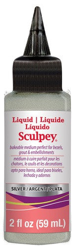 Liquid Sculpey Silver, 2 oz. ALSSV02