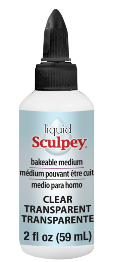 Liquid Sculpey Clear. 2oz. ALSCL02