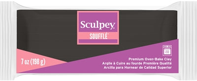 Sculpey Souffle Poppy Seed, 7 ounce SU08 6042 (NEW SIZE)