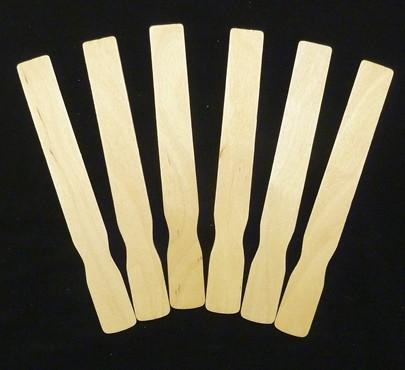 "Fan Handles, Fan Sticks, 9"" Natural 100 Pieces  PP9118-100 - Creative Wholesale"