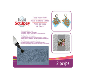 Sculpey Lace Silicone Bakeable Mold #APM 56