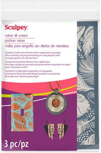 Sculpey Nature Silk Screen #AS2001