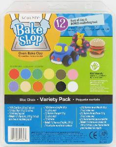 Sculpey Bake Shop Variety Pack,   # BAVPPA