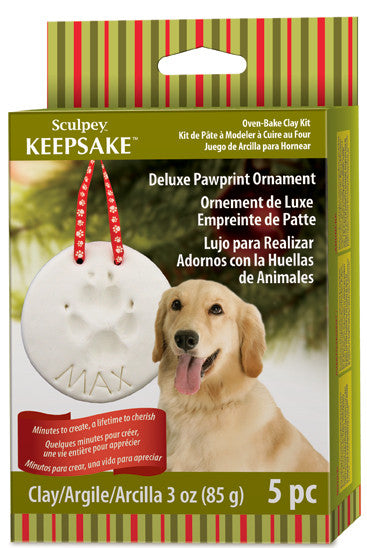 Deluxe Pawprint Ornament Kit H3001