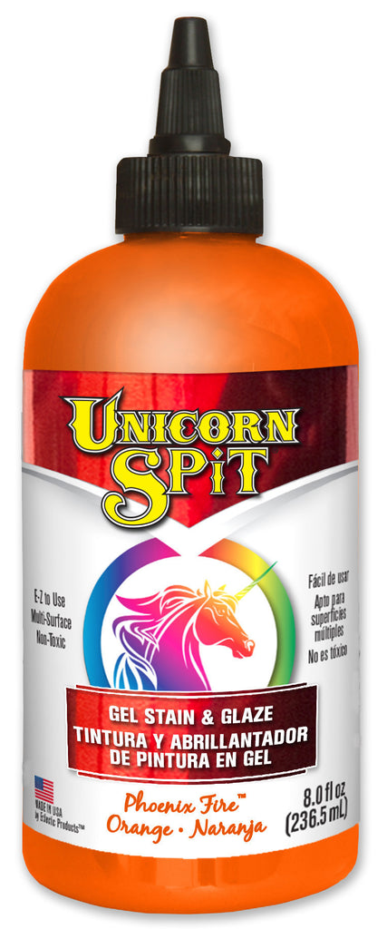 UNICORN SPIT, Orange Phoenix Fire, 8 oz bottle.