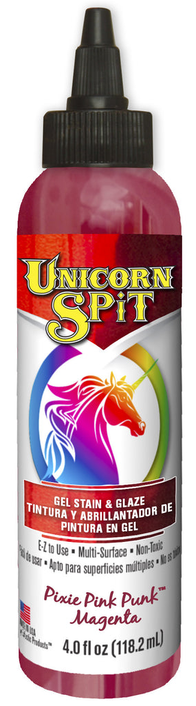 UNICORN SPIT, Pixie Punk Pink, 4 oz btl.
