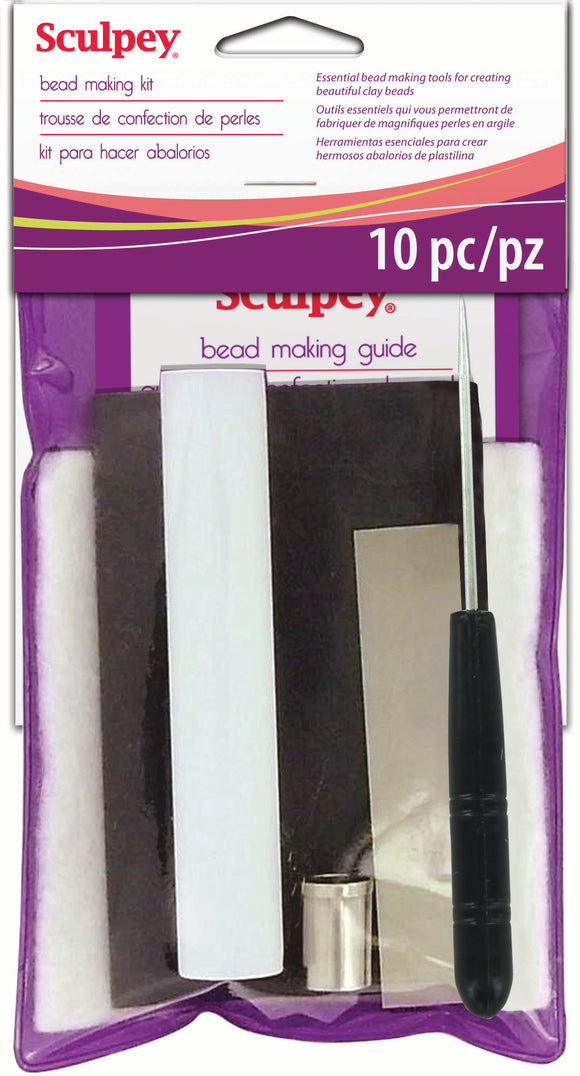 Sculpey Bead Making Kit, 10 pieces  #AS2050