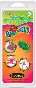 Sculpey Bake & Bend Kit, 6 - 1oz bars  K3 6120