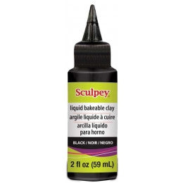 BLACK Liquid Sculpey ALSBK02 (NEW)