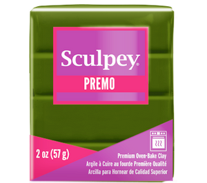 Premo Sculpey® Clay Spanish Olive, 2 oz bar, PE02 5007
