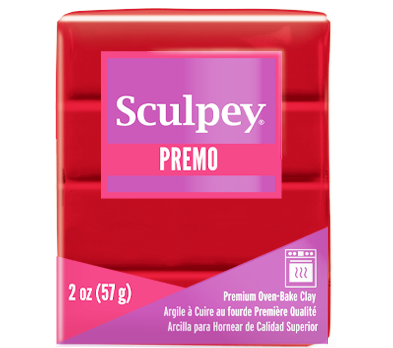 Premo Sculpey® Clay Pomegranate, 2 ounce bar, PE02 5026